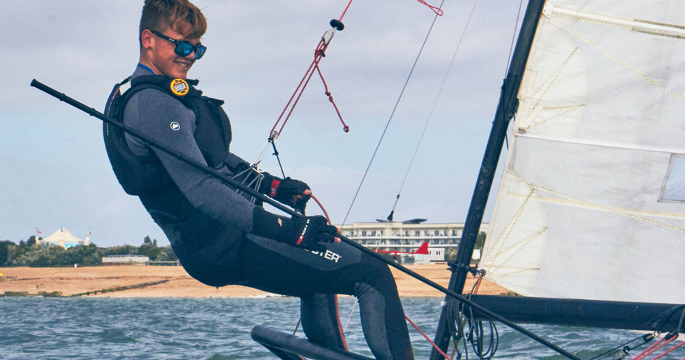 Rooster Sailing Polypro™ Top base layer dinghy kit