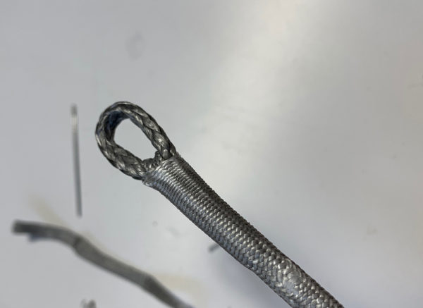 A Tuck Splice in Rooster's 'Zero Pro Finish Dyneema® – Simples